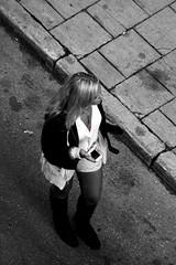 B&W (josephzohn | flickr) Tags: girls people blackandwhite bw svartvitt tjejer människor brahegatan