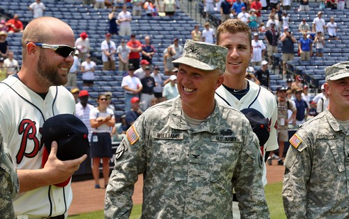 McCann Surprises Ga. Guardsman