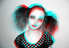 581377449 (PoppyLunaCarter) Tags: blue red two girl female hair child sister edited makeup holes teen portraiture teenager vest sibling brunette eyeliner