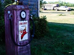 Fire Chief (gabi-h) Tags: grass truck vintage farm trailer texaco firechief princeedwardcounty gabih
