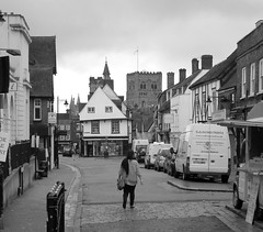 Verulam View (dhcomet) Tags: church abbey cathedral clocktower stalbans herts