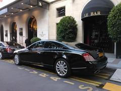Xenatec Maybach 57S Coup (benduj78) Tags: auto black paris car hotel george noir negro voiture exotic v coche rare nero exclusive supercar schwarz