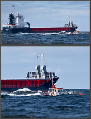 Schokland 9431599 Best Viewed By Pressing L (Jonathan Irwin Photography) Tags: river boat waves ships container bow oil rough schokland pilot seas chemical tankers tees dredgers teesport wwwjonathanirwinphotographycouk 9431599