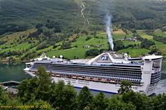Caribbean Princess (Nikon Kristian) Tags: cruise norway stryn olden princesscruises caribbeanprincess nordfjord sognogfjordane