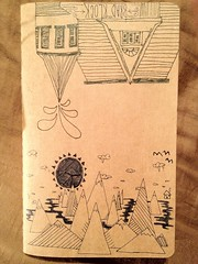 School notebook (Counter_Klock) Tags: moleskine notebook doodle lamysafari