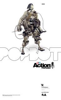 threeA - POPBOT:Action PORTABLE Slicer Tomorrow Kings