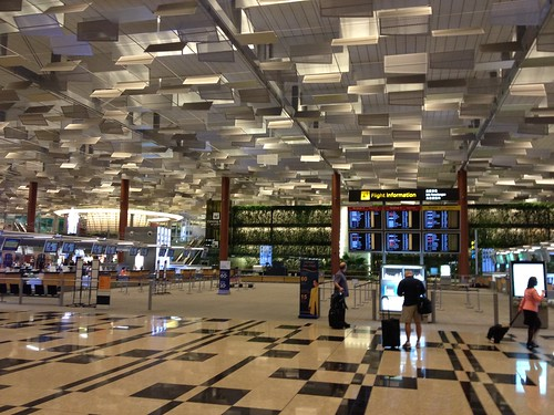 At Changi airport, heading home by dionhinchcliffe, on Flickr