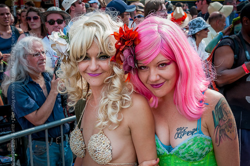 :: Image from the Coney Island Mermaid Parade (2011)