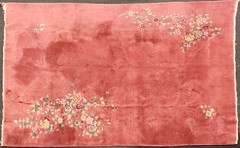 1. Chinese Art Deco Floral Carpet