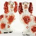 205. Pair of Staffordshire Spaniels