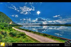 Maple Lake(HongFeng Lake) (Ludwig_Kark) Tags: hdr d700