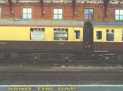 Bristol railway station (warm__gun) Tags: uk greatbritain england station train vintage bristol colours unitedkingdom railway gb coloured colori stazione inghilterra treni retrò iphone4