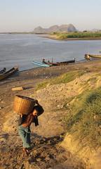 To Market (II) (cormend) Tags: trip travel canon eos asia tour state burma tourist independent myanmar southeast kayin 50d burmanie hpaan cormend