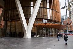 Ground level (Val in Sydney) Tags: sydney australia australie nsw cbd building