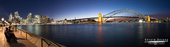Sydney Harbour Sunset II NSW (Ged Delany) Tags: operahouse sydneyharbour sydneyharbourbridge photographicworkshop