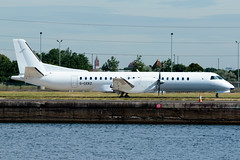 Eastern Airways - Saab 2000 - G-CERZ  London City Airport (paulstevenchalmers) Tags: londoncity london lcy airport