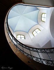 Church stairs (DameBoudicca) Tags: switzerland schweiz suiza suisse svizzera svizra  goldau church kirche kyrka glise chiesa iglesia  stairs trappa treppe escalera escalier scala