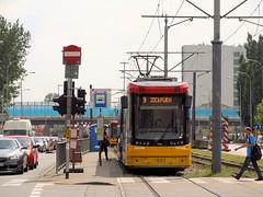 "PESA 128N ""Jazz-Duo"", #3601, Tramwaje Warszawskie (transport131) Tags: tram tramwaj pesa tw ztm warszawa warsaw 128n jazzduo"