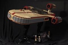 Landspeeder1 (aaron.fiskum) Tags: landspeeder star wars skywalker starwars lego ideas hovercraft x34
