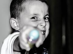 Bop gun (NikNak Allen) Tags: portrait face eyes close