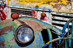 Business is Picking Up (Terri Toll) Tags: colorado d610 decay happytruckthursday htt nikon old oldtruck truck victorcolorado