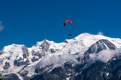 Devant le Mt Blanc (Hlne Baudart) Tags: mont blanc montagnes hautesavoie delta plane