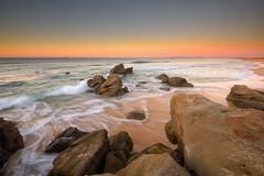 Redhead Flow (Paul Hollins) Tags: aus australia newsouthwales redhead redheadbeach seascape nikond750 nikon rocks ocean waves watermovement