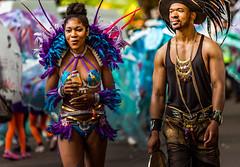 Nottingham Carnival III - Take a Break (darren.cowley) Tags: nottingham carnival candid festival costumes colourful man woman party