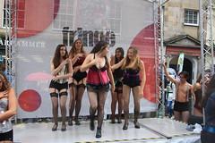 Edinburgh Fringe Festival 2016: Cabaret (chairmanblueslovakia) Tags: scotland scottish capital city edinburgh fringe festival high street virgin stage cabaret sleaze stockings suspenders slut rain summer wet california musical theater ensemble