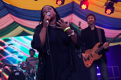Eska @ Mostly Jazz Festival 5 (preynolds) Tags: concert gig livemusic dof canon5dmarkii mark2 raw tamron2470mm frontwomen singer singing festival soul music musician moseley moseleyprivatepark stage stagelights birmingham counteractmagazine noflash mostlyjazz2016