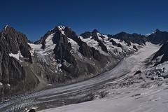 Glacier d'Argentire et son bassin Valle de Chamonix Mont Blanc (CHAM BT) Tags: glacier crevasse neige glace serac montagne rocher roc argentiere vallee cirque snow ice mountain rock peak granit valley pointe hautesavoie chamonix france alpes alps breathtakinglandscapes