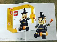LEGO Seasonal 40204 Thanksgiving Pilgrim (hello_bricks) Tags: seasonal lego 40204 thanksgiving turkey dinde pilgrim toy