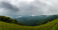 Paithalmala () (Sreelesh Sreedhar) Tags: nature wideangle india outdoor kerala green ngc nikon nikonflickraward nikond800 kannur nikon1635mm landscape mountain panorama clouds rain