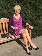 New-pink-dress (stockings.jane) Tags: cd crossdresser transvestite trainee gurl ladyboy shemale tv stockings crossdressing crossdress tg tgurl tgirl trans