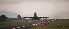 B747ERF (Bernal Saborio G. (berkuspic)) Tags: boeing b747 jumbojet takeoff bigplane avion aviation aircraft airplane airport runway
