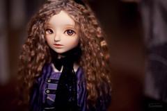 purple and gold (koroa) Tags: bjd doll bluefairy sd