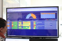 ALMA dashboard (Tomek Mrugalski) Tags: alma astronomy atacama chile display facility operation osf radioastronomy support