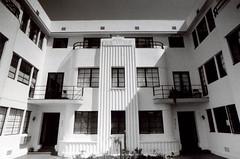 Exa 1C Richardson Apartments 4 () Tags: vintage retro classic losangeles la california history 35mm film camera exa exakta dresden veb pentacon eastgermany ddr gdr