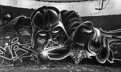 urbex, Toulouse (chripony29) Tags: 2016 bw canoneos6d darkvador nb starwars toulouse toulousestreetart aerosolart artist arosol blackandwhite blackandwhitephotography fresque fresquemurale graff graffart graffiti graffitiart letters mur spray sprayart spraypaint streetart urban urbanart urbex urbexstreetart wall wallart wallpain writting