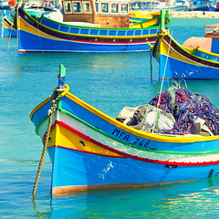 Marsaxlokk, Malta (Allard One) Tags: boats island happy bay spring nikon republic village vivid malta 11 april colourful maltese fishingboats sundaymarket lente eclectic squarecrop harsh bold archipelago vessels 2012 april1st kleurrijk baai clearbluewater fishingnets vrolijk marsaxlokk colourexplosion vissersbootjes singleraw nikcolorefexpro d700 traditionalfishingvillage nikond700 vierkantje mediterraneancountry nikonfx allardone allard1 duohardstrak kleurexplosie colouryourday nikkor70200mmf28vrii fullframepower mfa158 allardschagercom mfa248