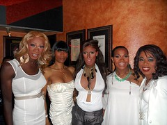 Sistas in White (Denise Thompson) Tags: white easter florida cd transgender april ts tg 2012