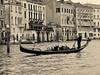 On the The Grand Canal (Raluca Melania) Tags: venice italy sepia vintage flood venezia gondolier aquaalta december2008