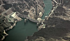 Hoover Dam (zeesstof) Tags: geotagged dam aerial hooverdam lakemead windowseat lakemeadnationalrecreationarea canon7d canonefs18135mmf3556is zeesstof