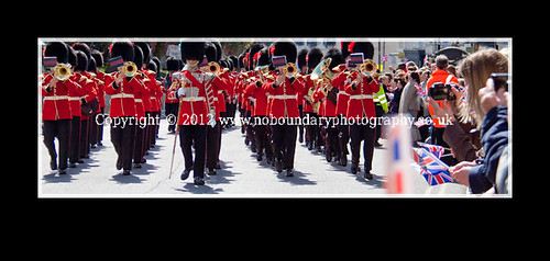 Windsor Changing of The Guards on Monday 30 April 2012-37