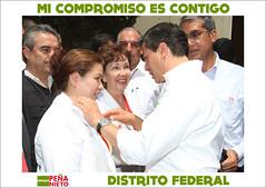 01-05-2012 DISTRITO FEDERAL (Mi foto con Enrique Peña Nieto) Tags: en de mexico los ciudad con peña alianza campañaepn trabajadoresenrique