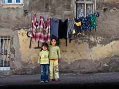 childhood years // istanbul, turkey (pamela ross) Tags: street girl kids pen turkey olympus istanbul line fatih ep1 washings