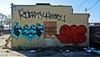 keep mine (gordon gekkoh) Tags: hairy atc graffiti oakland und mine keep roasty aqk twb undk