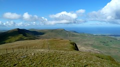 View West from Tyrrau Mawr, Cader Idris
