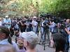 Briefing the press after the visit to Yulia Tymoshenko in the hospital (usembassykyiv) Tags: ukraine melia tefft yuliatymoshenko
