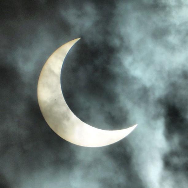 雲を通して2 #eclipse